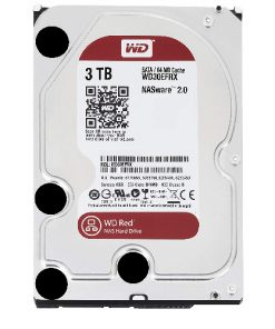 """WD30EFRX-WD Red 3TB NAS 64MB 3.5"""" 5400RPM SATA3 6Gb/s 64MB Cache"""