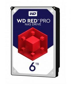 "WD6003FFBX-WD Red 6TB PRO NAS 3.5"" 7200RPM SATA3 6Gb/s 256MB Cache. 5 Years Warranty"