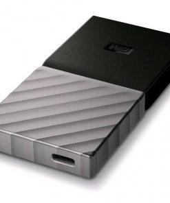 WDBKVX2560PSL-WESN-WD My Passport 256GB SSD USB-C External Portable Storage - Black (WDBKVX2560PSL-WESN)