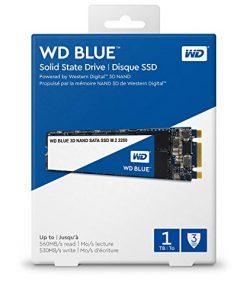 WDS100T2B0B-Western Digital Blue 1TB 3D NAND M.2 2280 SSD 560/530 R/W. 3 Years Warranty - WDS100T2B0B