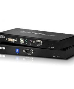 CE600-AT-U-Aten USB Single Link DVI KVM Console Extender with Audio & RS232 - 1920x1200