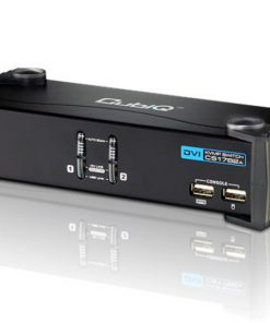 CS1762A-AT-U-Aten 2 Port USB DVI KVMP Switch with Audio and USB 2.0 Hub - Cables Included