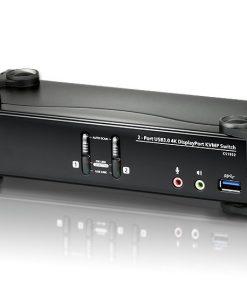 CS1922-AT-U-Aten 2 Port USB 3.0 4K DisplayPort KVMP Switch. Support 4096 x 2160 @ 60Hz
