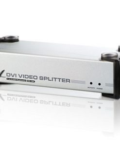 VS164-AT-U-Aten 4 Port DVI Video Splitter w/ Audio - 1920x1200@60Hz