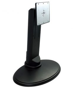 """BT-LCD-T15-Brateck Free Standing Single LCD Monitor Stand from 13""""-27"""" with Adjustable Height and Rotatable"""