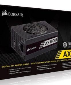 CP-9020183-AU-Corsair 1600W AX 80+ Platinum Digital Fully Modular 140mm FAN ATX PSU 10 Years Warranty.