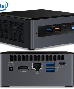 """BOXNUC8I3BEH4-Intel NUC mini PC i3-8109U 3.6GHz 2xDDR4 SODIMM 2.5"""" HDD M.2 SATA/PCIe SSD HDMI USB-C (DP1.2) 3xDisplays GbE LAN WiFi BT 6xUSB Digital Signage POS"""