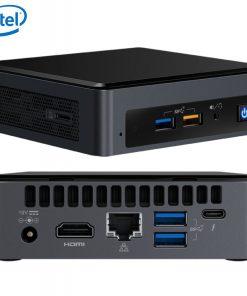 BOXNUC8I3BEK4-Intel NUC mini PC i3-8109U 3.6GHz 2xDDR4 SODIMM M.2 SATA/PCIe SSD HDMI USB-C (DP1.2) 3xDisplays GbE LAN WiFi BT 6xUSB Digital Signage POS