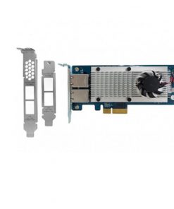 LAN-10G2T-X550-QNAP LAN-10G2T-X550 Dual-port 10 Gigabit Network Rackmount/Tower Expansion Card