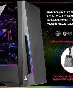 DP501-Antec DP501 ATX ARGB Front LED