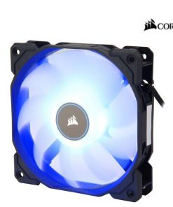 CO-9050084-WW-Corsair Air Flow 120mm Fan Low Noise Edition / Blue LED 3 PIN - Hydraulic Bearing
