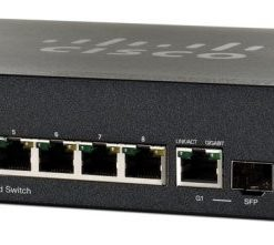 SF302-08MPP-K9-AU-Cisco 8-port 10/100 + 2 x combo Gigabit SFP L3 Managed Switch (124W)
