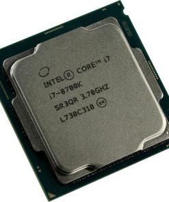 CPI7-8700K-TRAY-Intel Core i7 8700K 3.7Ghz (4.7GHz Turbo) LGA1151 8th Gen 12MB 6-Core 12-Thread 95W HD Graphics 630 Unlocked OEM Box no heatsink fan Coffee Lake LS