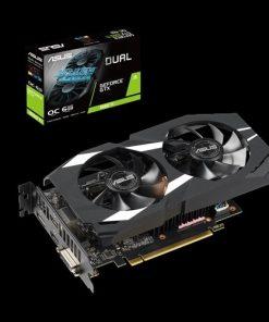 DUAL-GTX1660TI-O6G-Asus nVidia DUAL-GTX1660TI-O6G Dual GeForce GTX1660Ti GDDR6 6GB OC Edition