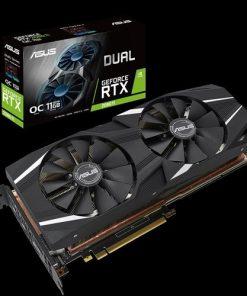 DUAL-RTX2080TI-O11G-ASUS nVidia DUAL-RTX2080TI-O11G GeForce RTX2080TI OC Edition 11GB GDDR6