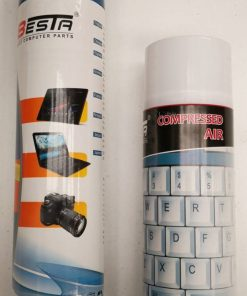 A-AirDuster-Besta Air Duster Compressed Can Spray 400ml for Cleaning Motherboards Video Cards PCs Laptops Keyboards Cameara Lens Mobile Phones ~OPT-AD-400-NF
