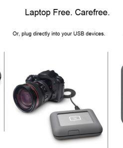 STGU2000400-LaCie Seagate  2TB DJI Copilot BOSS USB 3.1 Type-C Computer-Free Portable External HDD