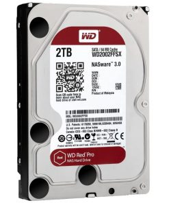 """WD2002FFSX-WD Red 2TB Pro NAS 64MB Cache 3.5"""" 7200RPM SATA3 6Gb/s 5 Years Warranty"""