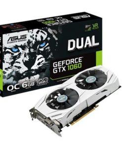 DUAL-GTX1060-O6G-Asus nVidia DUAL-GTX1060-O6G PCIe Card GDDR5 8K 7680x4320 2xDP 2xHDMI 1xDVI 1785/1569 MHz