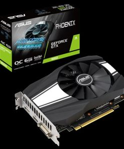 PH-GTX1660-O6G-Asus nVidia PH-GTX1660-O6G Phoenix GeForce GTX 1660 OC Edition 6GB GDDR5