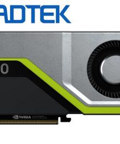 RTX 5000-Leadtek nVidia Quadro RTX5000 PCIe Workstation Card 16GB GDDR6 4xDP1.4 5K 4x4096x2160@120Hz 1xVirtualLink 256-Bit 448GB/s 3072 Cuda 384 Tensor 48 RT
