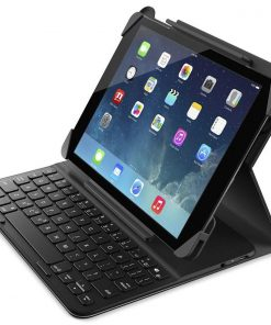 F5L174TTC00-Belkin QODE Slim Folio Case Cover with Bluetooth Keyboard for iPad 2017 2018 Air Air 2 Ultra Thin Lightweight Water repellent ~MPLT-SLIMFOLIO