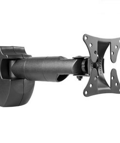 """BT-LCD-502-Brateck LCD Wall Mount Arm Vesa 50/75/100mm Up to 27"""""""