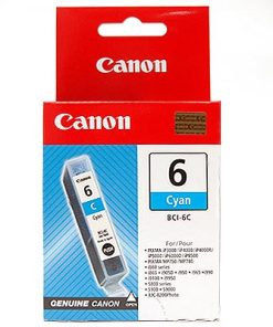 BCI6C-Canon BCI6C Cyan Ink Cart for S800 and BJC8200 printer