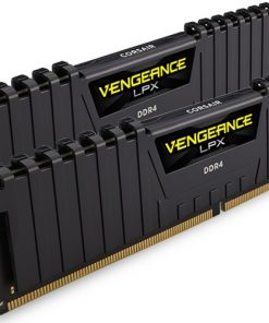 CMK32GX4M2A2400C14-Corsair Vengeance LPX 32GB (2x16GB) DDR4 2400MHz C14 Desktop Gaming Memory Black