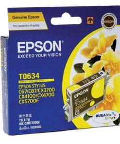 C13T063490-Epson T063 Yellow Ink (LS) CX3700/CX4100/CX4700/CX5700F