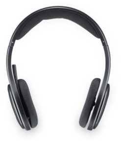 981-000458-Logitech H800 Bluetooth Headset Black 2.4Ghz Compatible Laser-tuned drivers Built-in equalizer Noise-cancellling mic