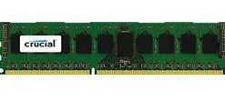 CT8G3ERSDD8186D-Crucial 8GB (1x8GB) DDR3 RDIMM 1866MHz ECC Registered Single Stick Server Desktop PC Memory RAM