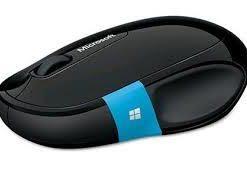 H3S-00005-Microsoft Sculpt Comfort Black Bluetooth Mouse