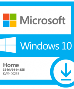 KW9-00265-Microsoft Windows 10 Home 32bit/64bit - Digital ESD Download