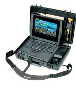1490-003-110-Pelican 1490CC1 Notebook Protector Case Military Grade Tough Rugged with Lid & Tray Organizer Watertight Crushproof Dustproof
