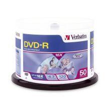 95101-Verbatim DVD-R 4.7GB 50pk Spindle 16x