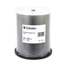 95253-Verbatim CD-R 700MB 100Pk White Thermal 52xCMV95253