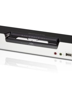 CS1642A-AT-U-Aten 2 Port USB Dual-View DVI KVMP Switch with Audio and USB 2.0 Hub - Cables Included