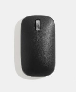 RM-RCM-L-04-AZIO RETRO CLASSIC Vintage Bluetooth & RF Wireless Mouse GUNMETAL - Genuine Trim/Dual BT+USB-RF/USB-C Charge/Long Battery Life/Windows/MacOS