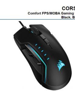 CH-9302211-AP-Corsair Gaming GLAIVE PRO RGB Gaming Mouse - Black