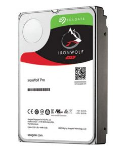 "ST12000NE0008-Seagate 12TB 3.5"" IronWolf PRO NAS SATA3 NAS 24x7 Performance 7200 RPM 256MB Cache HDD. (ST12000NE0008) 5 Years Warranty"