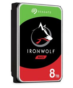 "ST8000VN004-Seagate 8TB 3.5"" IronWolf SATA3 NAS 24x7 7200 RPM 256MB Cache SATA 6.0Gb/s HDD (ST8000VN004)"