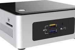 "BOXNUC5CPYH-Intel NUC mini PC Cel-N3050 2.1GHz DDR3L SODIMM 2.5"" HDD VGA HDMI 2xDisplays GbE LAN Wifi BT 4xUSB3.0 Support Windows 7"