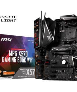 MPG X570 GAMING EDGE WIFI-MSI MPG X570 GAMING EDGE WIFI Ryzen AM4 ATX Motherboard 4xDDR4 5xPCIE 2xM.2 Realtek® ALC1220 6xSATAIII LAN 10xUSB3.2 6xUSB2.0