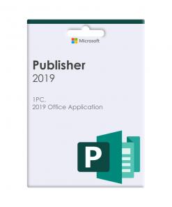164-07835-Microsoft Publisher 2019 Volume Licence