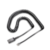 26716-01-Plantronics  Col QD to Male Modular Plug M12/M22