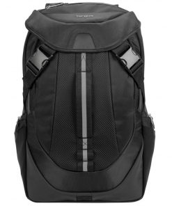 """TSB953GL-Targus 17.3"""" Voyager II Backpack with Additional Anti-theft Hood Cover - Black (LS)"""