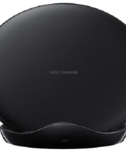 128660-Samsung Leather Black Wireless Charging Stand