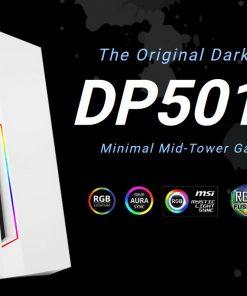 DP501 White-Antec DP501 White ATX ARGB Front LED