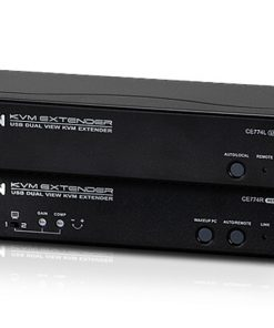 CE774-AT-U-Aten USB Dual VGA Cat 5 KVM Extender (1600 x 1200@150m);1920 x 1200 @ 60Hz (30 m)